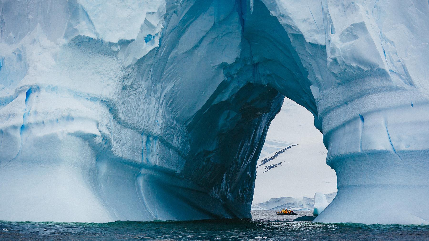 Ocean Adventurer in Antarctica